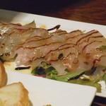 ItalianBar t-tee - 真鯛のカルパッチョ