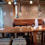 焼肉酒場 すみびや - 店内テーブル席