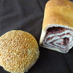58216213 - 黒豆ごまパン・あんこ食パン