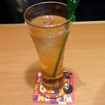 魚民 - ノンアル まるで梅酒な梅ジンジャー 438円