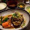 Hiro - 料理写真:おろしきのこハンバーグ