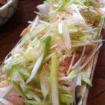 串源 - 蒸し鶏、これもリピ‼︎大好き♡