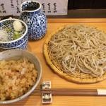 高田 - ざるそばのお昼セット