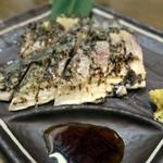 筑前屋 - 炙りとろしめ鯖¥480