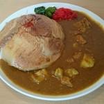 とろ肉つけ麺 魚とん - トロ肉カレー