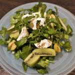 ピグレット - 旬の緑のサラダ 870円