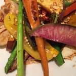Cabbage - グリル野菜のサラダ