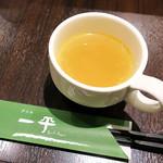グリル一平 - スープ ヾ(≧∇≦*)/