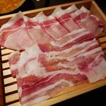 58225608 - 豚肉追加分(790円)