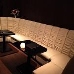 ブルールーム ウエノ - ゆったりとしたソファー席