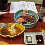 ぬくもりの宿 ふる川 - 料理写真:ひと風呂浴びて今宵の宴会場へ・・・