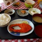 58227790 - 鮭明太子セット、570円。