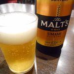 G麺 ふじもり  - 瓶ビール
