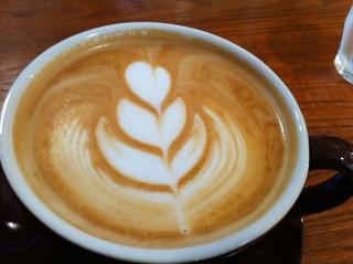 タナカフェプラスコーヒーロースター - カフェラテ2