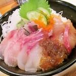 ふじ丸 - 地魚丼 アップ(10月20日)