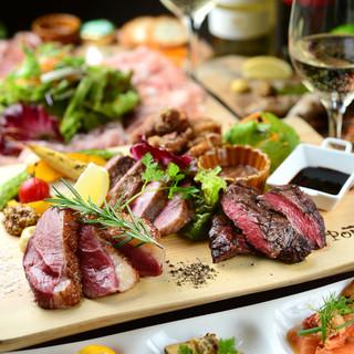 歓送迎会・ご宴会コース限定!こだわり肉の盛り合わせ