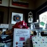 トネリコ カフェ - レジの前の様子