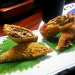 焼鳥よっちゃん - 秋刀魚 八丁味噌フライ