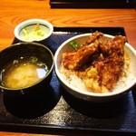 鳥元 - 天丼ランチ