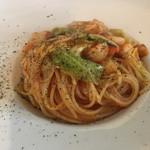Pasta Piccola due 車道店 - 小柱とキャベツ