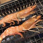 磯丸水産 - 赤海老塩焼き