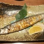 居酒家 あじたろう - 秋刀魚の塩焼き