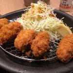 おひつごはん四六時中 - 料理写真:カキフライ定食 999円