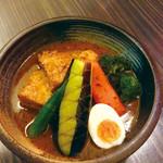 【数量限定】宮崎県霧島豚角煮と野菜のスープカレー