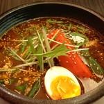 納豆とおくらのスープカレー