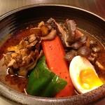北海道愛別 矢部さんの舞茸スープカレー