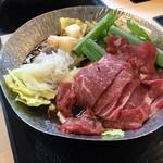 レストラン嵐山 - すき焼き鍋