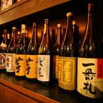 焼き鳥・炉端焼き・炭火居酒屋 炭火家らんたん - 地酒はもちろん!日本酒の種類も豊富♪