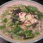 炭火串焼串まさ - 鶏スープ茶漬け