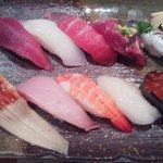 魚力海鮮寿司 - 旬の特選ランチ990円