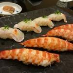 鮨 徳米 - にぎりの図