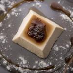 ラ テッラ - 和三盆糖のパンナコッタ