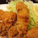 富水 - 生牡蠣フライアップ