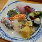 Kyousushiookini - 寿司盛り合わせセット(1600円)税込み