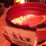 板蕎麦 山灯香 - 蕎麦米?