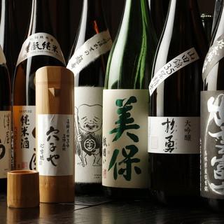 日本酒メニューも充実のラインナップ!