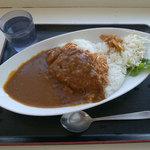 おべんとうのヒライ - 料理写真:ザ・ビストロ チキンカツカリー(500円・税込)