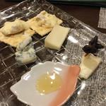 ワイン・オステリア wa d'oro - チーズ盛合