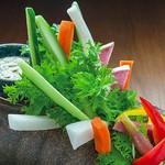 棒々野菜 アンチョビディップ