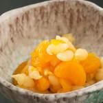 ちょろぎと 蜜柑の柚子酢