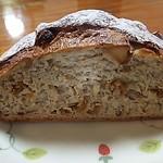 パン・リゾッタ - 無花果とマカダミアナッツ