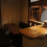 酒房 きん魚 - 2階ソファ席(6人掛け)