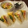 リーフ ティー カフェ ヒカリ - 料理写真:ミックスサンドセット