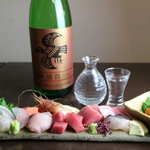 裏剣 - 日本酒とお刺身がオススメです。