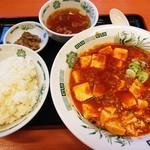 日高屋 - 麻婆定食