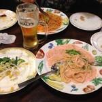 ローマの家 - ちょっとした夕食だよ